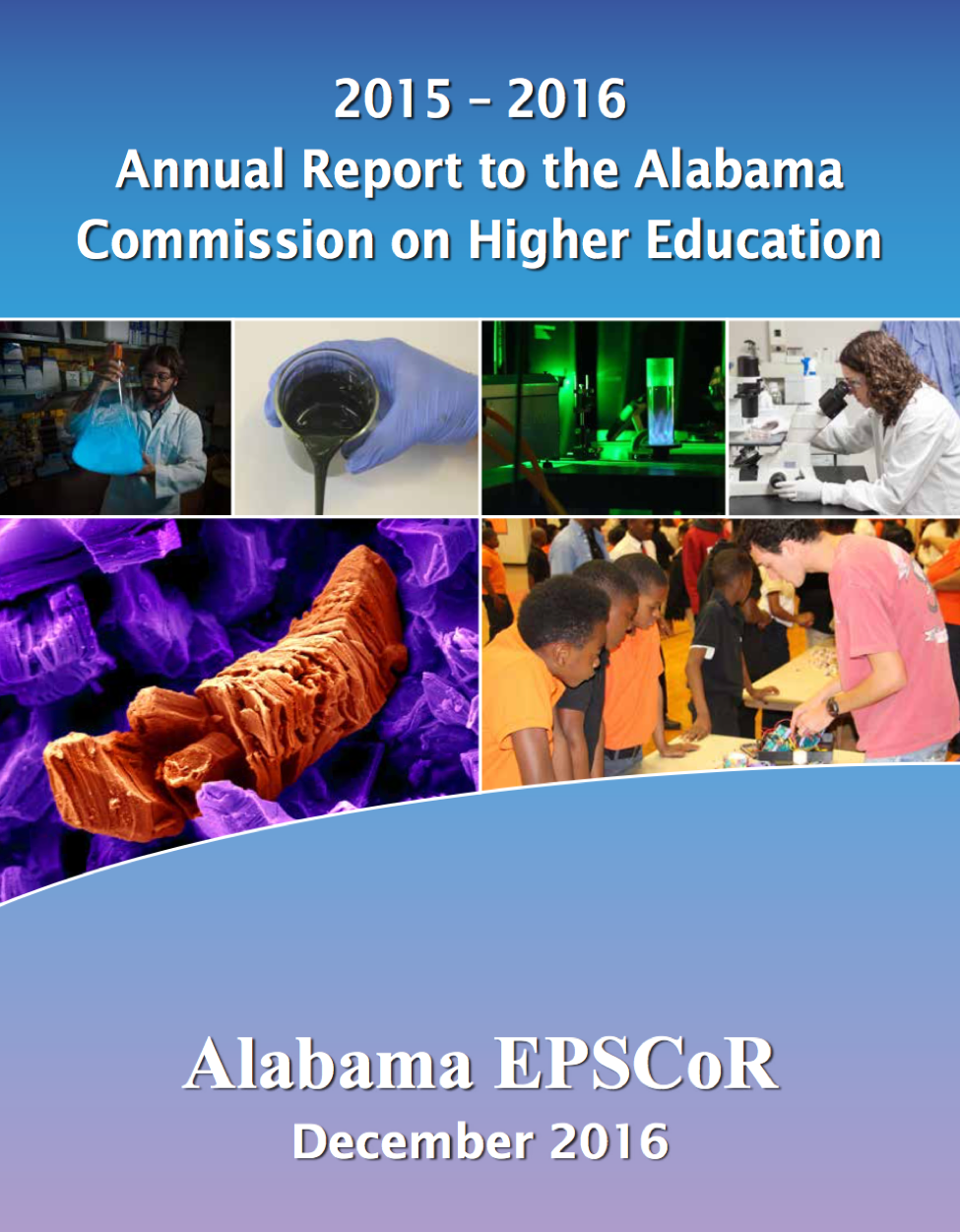 2015-2016 Annual Report to the Alabama Commission on Higher Education