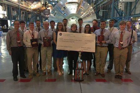 University of Alabama Engineering Students Win NASA Contest